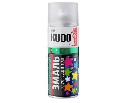 """Краска аэрозоль """"KUDO"""" флуоресцентная голубая 520мл KU-1202"""