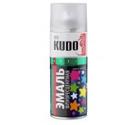"""Краска аэрозоль """"KUDO"""" флуоресцентная лимонно-желтая 520мл KU-1204"""