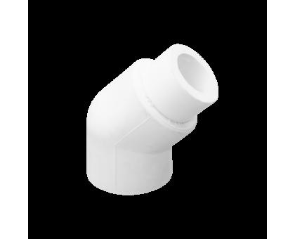 Отвод PPR внутренний-наружный 20мм 45 градусов LAMMIN