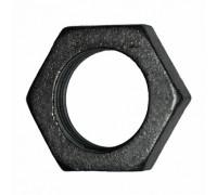 Контрагайка чугунная 20 черная