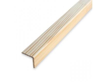 Угол деревянный 40х40х2500мм гладкий