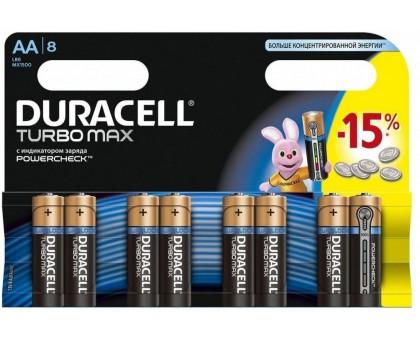 Батарейка DURACELL LR6 8BL ULTRA (TURBO)