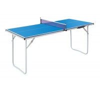Теннисный стол, детский 1530х750х720мм сетка+ракетки+шарик