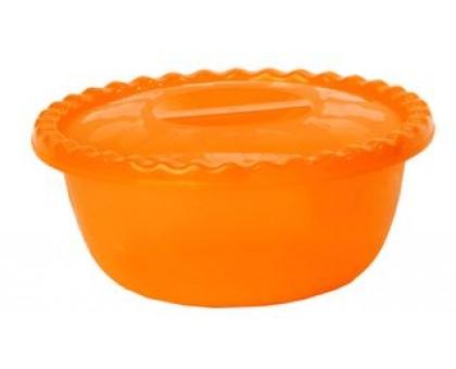 Миска пластм. 3,0л с/кр оранжевый 100603