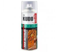 """Лак аэрозоль """"KUDO"""" универсальный, яхтный 520мл KU-9003"""