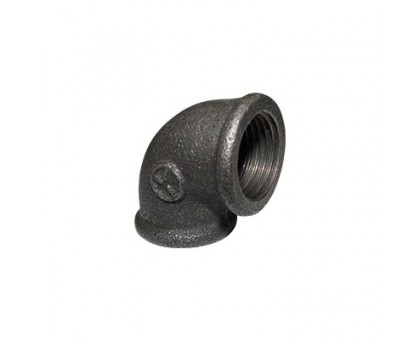 Угольник чугунный 25 черный