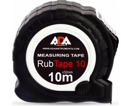 Рулетка ударопрочная ADA RubTape полимерное покрытие ленты 10,0м