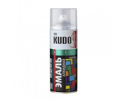 """Краска аэрозоль """"KUDO"""" белая матовая 520мл KU-1101 купить"""