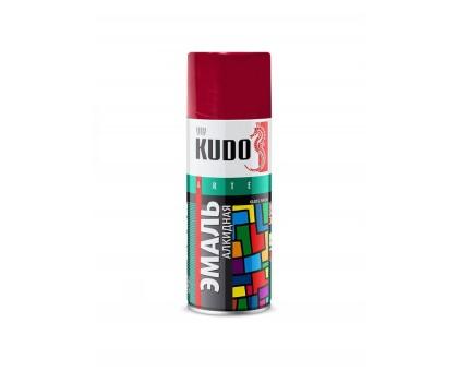 "Краска аэрозоль ""KUDO"" вишневая 520мл KU-1004"
