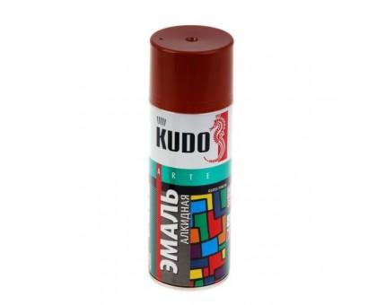"Краска аэрозоль ""KUDO"" красная 520мл KU-1003"