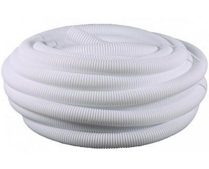 Шланг гофрированный d-40мм белый (бухта 30м)