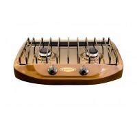 Плита газовая GEFEST ПГ 700-02 бытовая, настольная, коричневая
