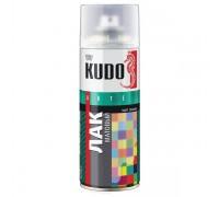 """Лак аэрозоль """"KUDO"""" акриловый матовый 520мл KU-9004"""