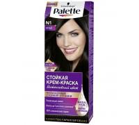 """Краска для волос PALETTE """"ICC"""" N1 черный"""