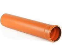 Труба ПВХ наружн. К160*3,2 Р 2000 с кольцом