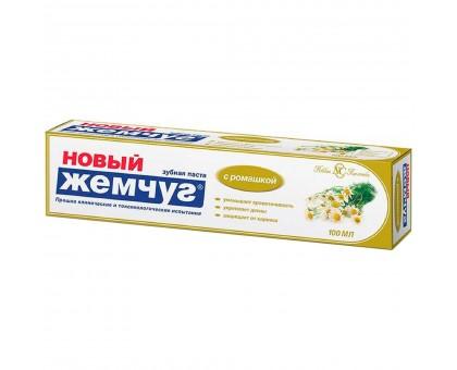 Зубная паста Новый Жемчуг Ромашка 100мл