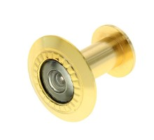 Глазок дверной KL-201 PB золото