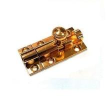 Шпингалет KL-410 PB (золото)