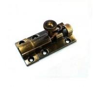 Шпингалет KL-410 AB (бронза)