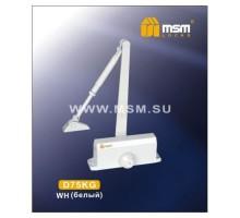 Доводчик дверной MSM D75KG WH белый