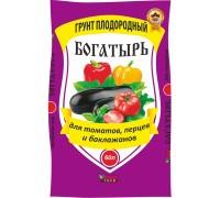 Почвогрунт БОГАТЫРЬ для томатов универсальный 60л