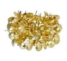 Гвозди мебельные KL-506 PB /120шт/ золото