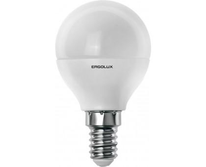 Лампа светодиодная ERGOLUX G45 LED 7W/4K E14