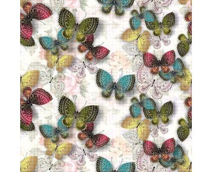 """Панель ПВХ 64 х 64см Лесная сказка """"Бабочки"""""""