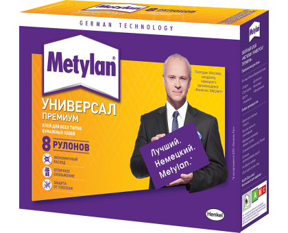 Клей обойный МЕТИЛАН универсальный премиум 170гр