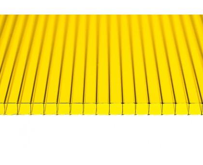 Поликарбонат желтый 8мм 2100 x 6000мм