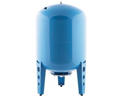 Гидроаккумулятор 300 В вертикальный (стальной фланец, синий) ДЖИЛЕКС