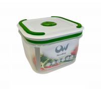 Емкость для СВЧ и заморозки 0,65л GL9004 квадратная