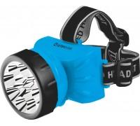 Фонарь налобный Ultraflash LED5361 220В, голубой, 12LED, 2 режима