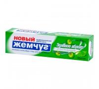 Зубная паста Новый Жемчуг 100мл Зеленое яблоко + отбеливание