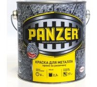 "Краска для металла ""PANZER"" гладкая золотистая 2,3л"