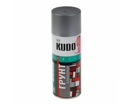 "Грунт аэрозоль ""KUDO"" серый 520мл KU-2001"
